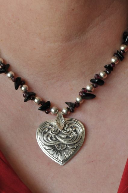 TMHeart necklace