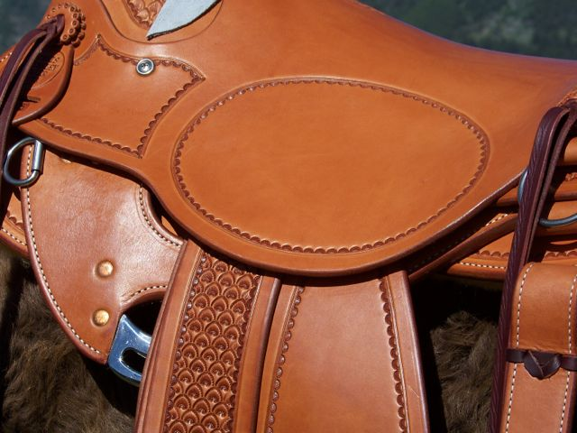 Dennis Hensely saddle