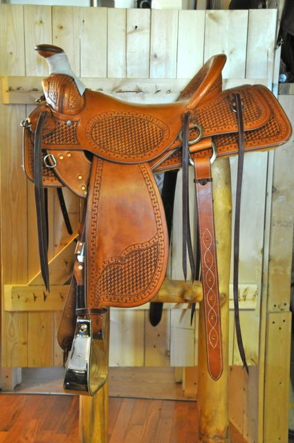 Dennis Hensley Saddle