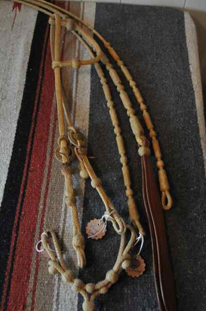 Vince Donaley Headstall and reins
